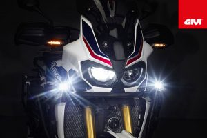 Focos Led Givi s321 en aluminio color negro