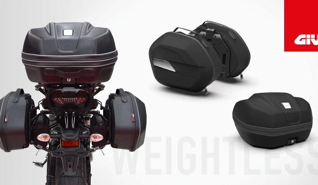 nuevas maletas GIVI WL900 y WL901 WEIGHTLESS!